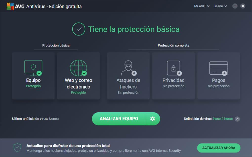 AVG Antivirus para PC