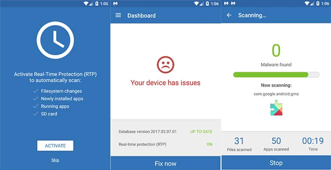 Malware Bytes para Android