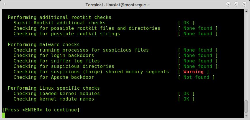 Chrootkits Antivirus para Linux