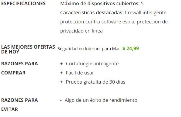 Integro Antivirus para Mac