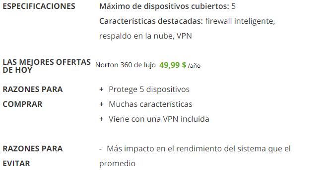 Norton Antivirus para Mac